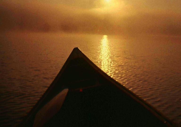 bow sunset