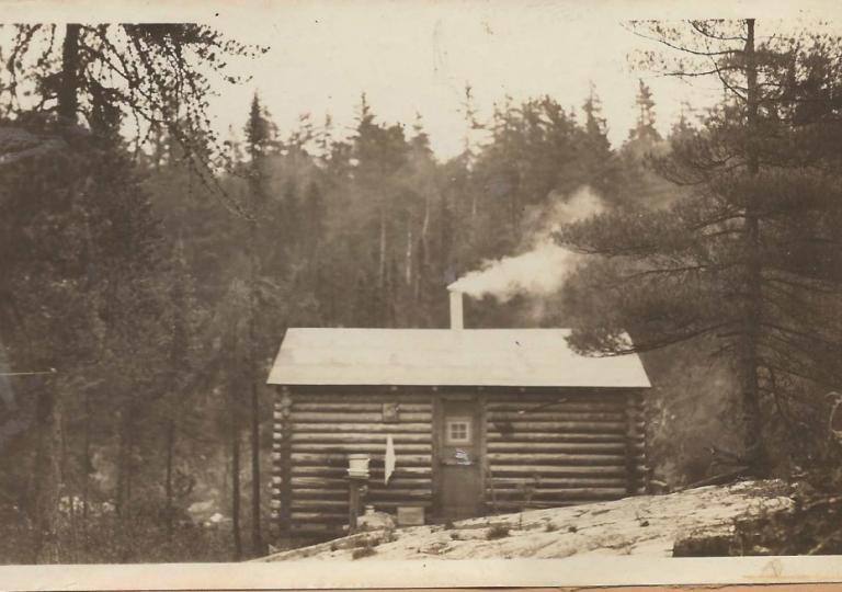 Cabin in 1931